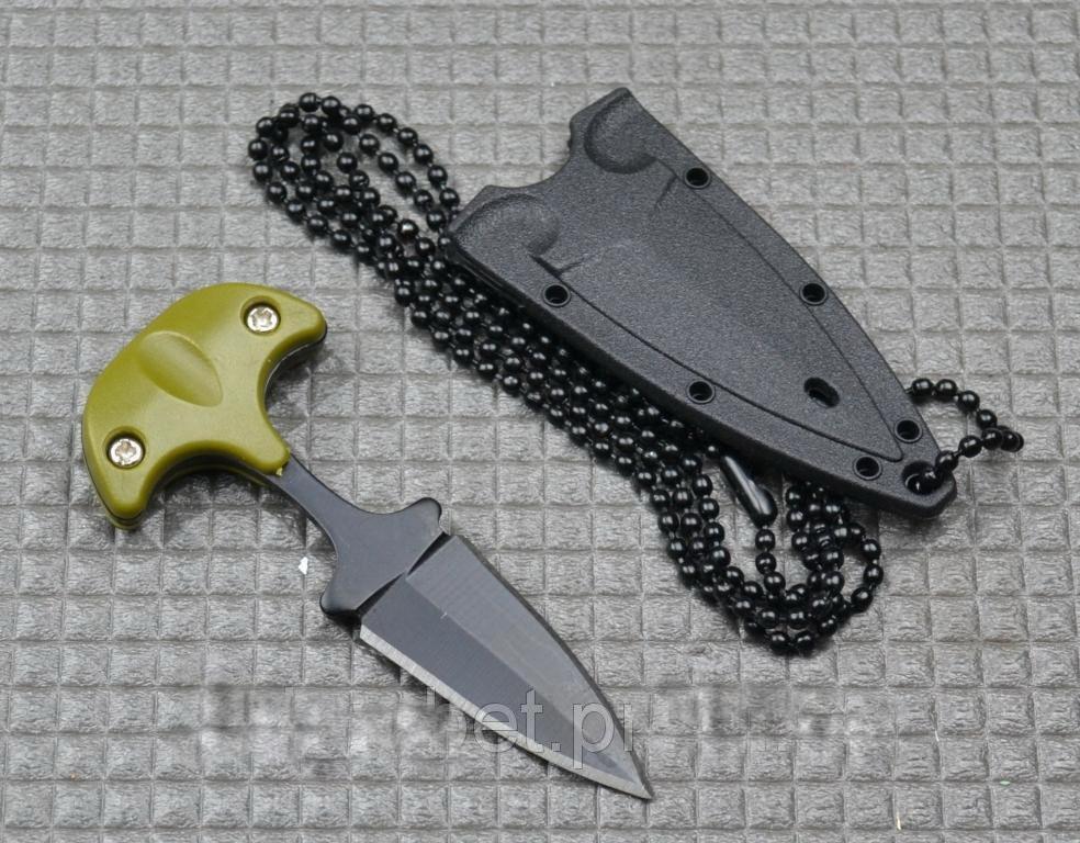 Нож тычок пуш даггер + чехол рукоять пластик, клинок стальной качественный нож тычковый