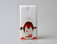 Чехол бампер с рисунком Lenovo A5000 Девочка