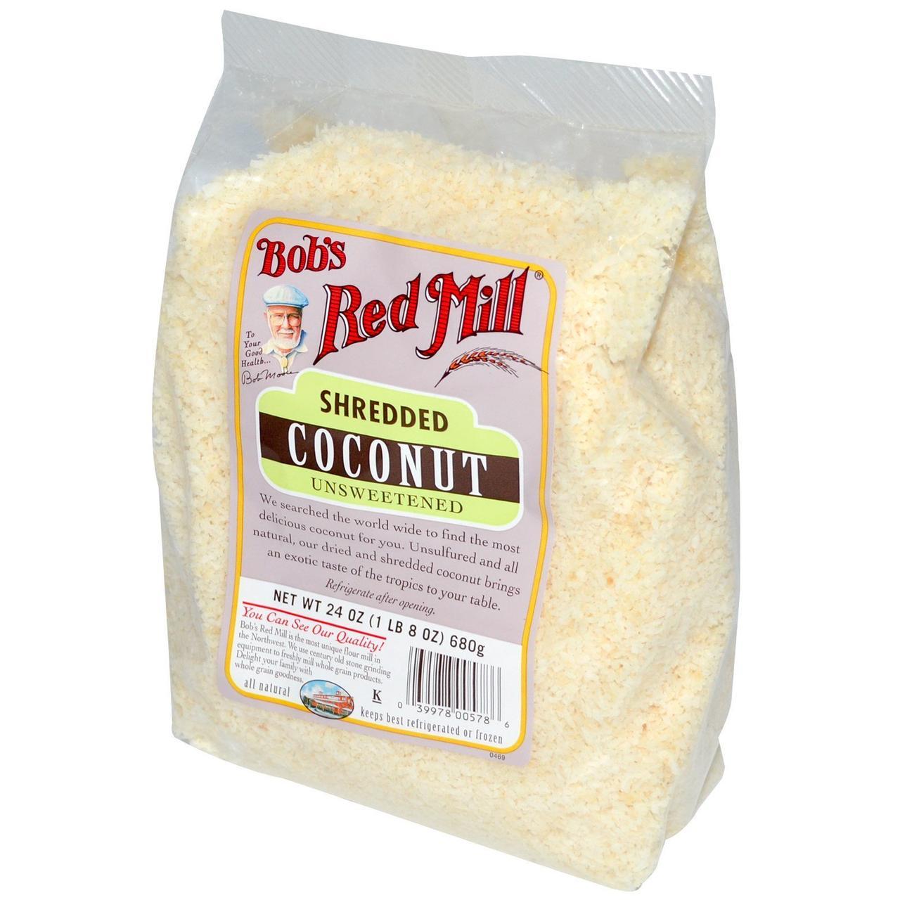 Кокос измельченный, Bob's Red Mill, 680 г