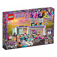 Конструктор LEGO Friends Мастерская по тюнингу автомобилей 413 деталей