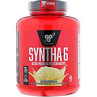 BSN, Syntha-6, заменитель пищи / добавка, ванильное мороженое, 5,04 фунтов (2,29 кг)