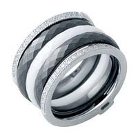 Серебряное кольцо с керамикой (19)