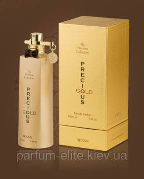 Женская арабская парфюмированная вода Afnan Precious Gold 100ml