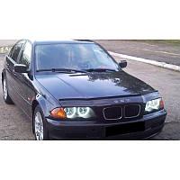 Дефлектор капота  BMW 3 1998-2001, Мухобойка BMW 3