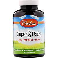 Вітаміни і мінерали, Carlson Labs, 120 капсул