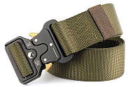 Пояс тактический Tactical Belt TY-6841! Ремень армейский хаки, черный