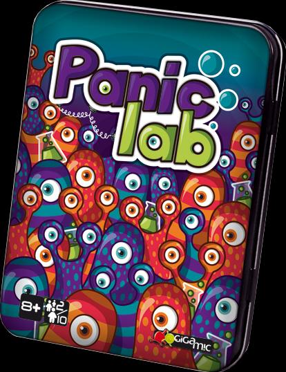 Настольная игра Gigamic Panic Lab (40073)