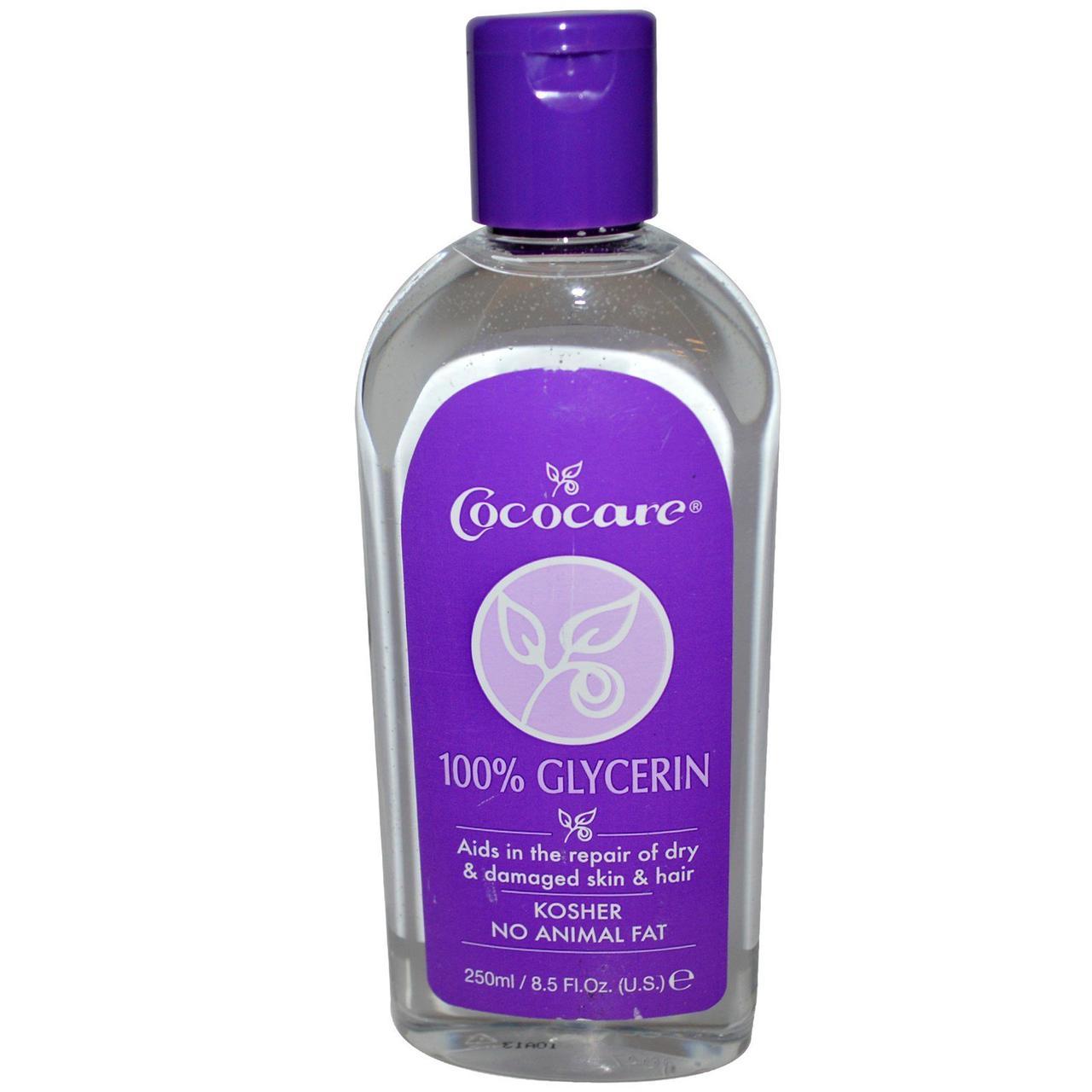 100% глицерин, Cococare, 250 мл