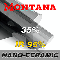 Атермальная тонировочная пленка MONTANA NANO-CERAMIC 35% 1,52м