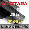 Атермальная тонировочная пленка MONTANA NANO-CERAMIC 25% 1,52м