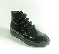 Лаковые ботинки осенние женские