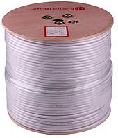 Телевизионный кабель RG-6U (РК-75) ПВХ белый CCS 1.02 экран 32%  остаток-51м