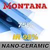 Атермальная тонировочная пленка MONTANA NANO-CERAMIC 75% 1,52м