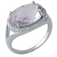 Серебряное кольцо с аметистом (18)