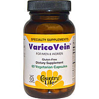 Противоварикозное средство, VaricoVein, Country Life, 60 кап.