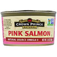 Crown Prince Natural, Розовый лосось из Аляски, 7,5 унции (213 г)