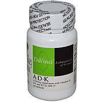 DaVinci Laboratories of Vermont, А•Д•К, 60 Капсул