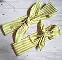 Набор повязок с принтами мама+дочь солоха в мелкие звезды, фото 4