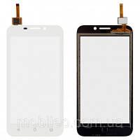 Сенсорный экран (тачскрин) Huawei Ascend Y5C Y541 white ориг. к-во