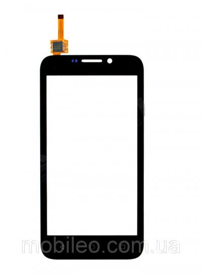 Сенсорный экран (тачскрин) Huawei Ascend Y5C Y541 чёрный ориг. к-во