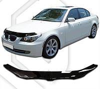 Дефлектор капота  BMW 5  2003, Мухобойка BMW 5