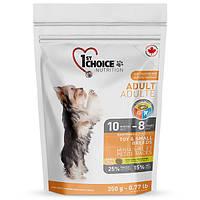 Корм 1st Choice для взрослых собак мини и малых пород, 0,35кг