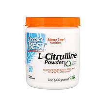 L-цитруллин, (L-Citrulline Powder), Doctor's Best, 200 г