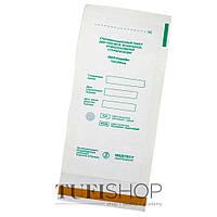 Крафт-пакет для паровой и воздушной стерилизации белые 100х200 мм, 1 шт