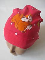 Детские шапочки с рисунком на осень.