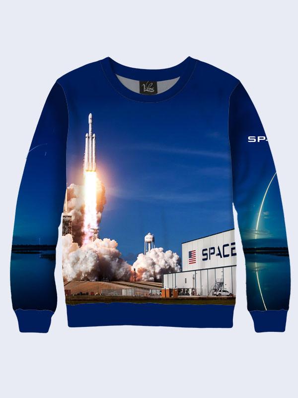 Свитшот SpaceX rocket launch