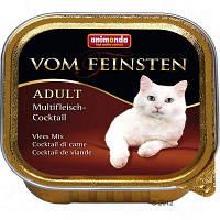 Консерви Animonda Vom Feinsten Adult Multifleisch-Cocktail, для дорослих кішок, коктейль мульти м'ясної , 100 грам