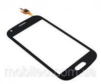 Сенсорный экран (тачскрин) Samsung S7390 Galaxy Trend Duos S7392 чёрный оригинал