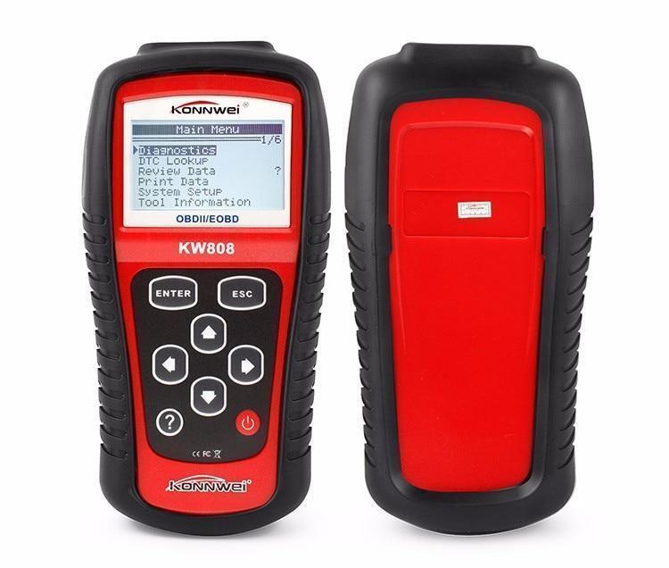Сканер OBDII/EOBD scanner KW 808, Универсальный автосканер