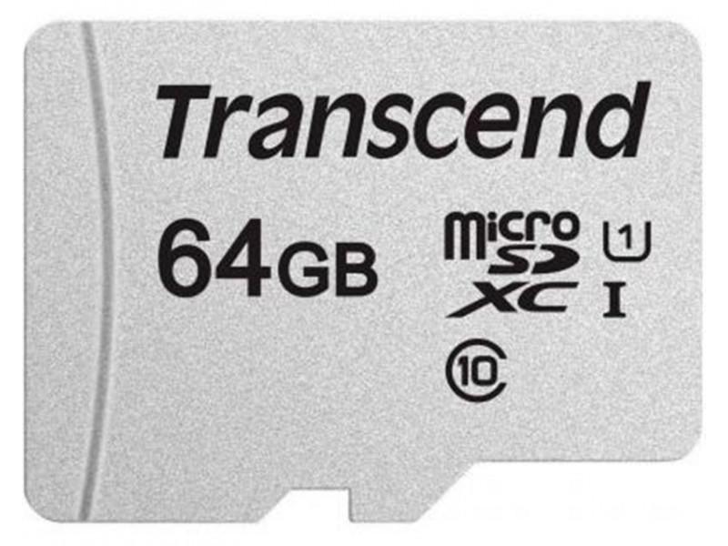 Карта памяти Transcend MicroSDXC 64GB UHS-I Class 10  300S (TS64GUSD300S)