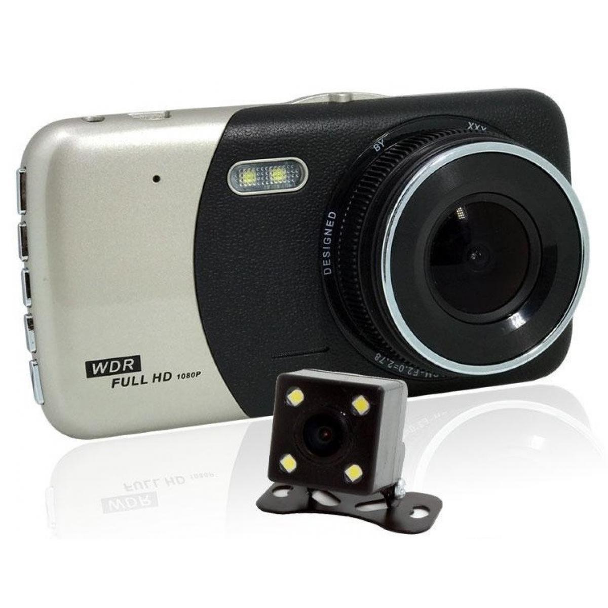 Видеорегистратор автомобильный DVR CT503 1080P с двумя камерами склад 1 шт.