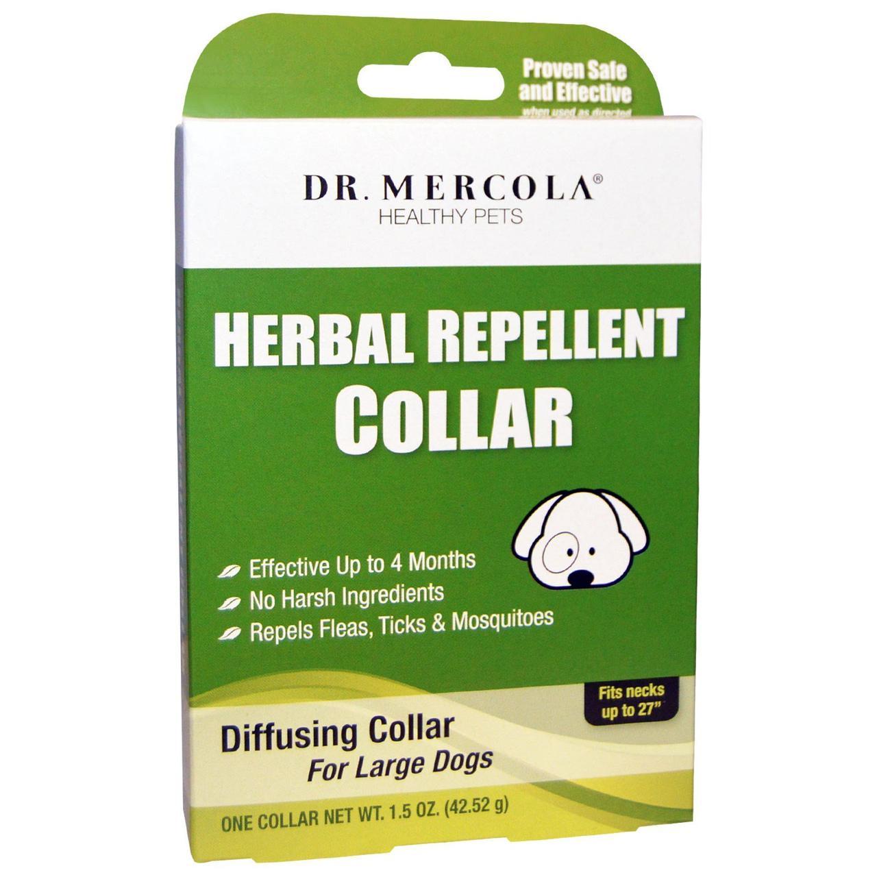 Нашийник від бліх для великих собак, Dr. Mercola, 42,52 р.