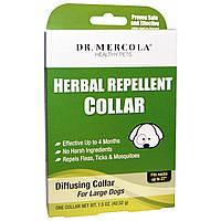 Ошейник от блох для больших собак, Dr. Mercola, 42,52 г.