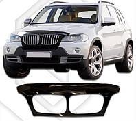 Дефлектор капота BMW  Х 5  2007, Мухобойка BMW Х6