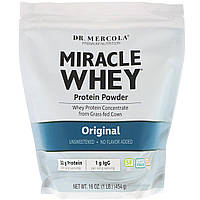 Сывороточный протеин, Miracle Whey, Dr. Mercola, 454 г