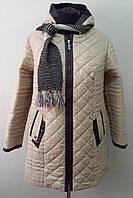 Пальто женское в комплекте с шарфом