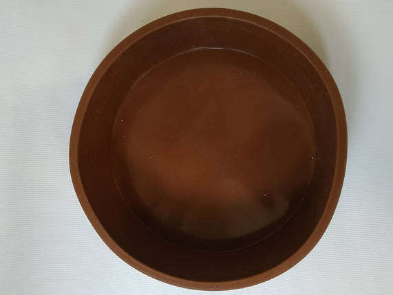 Форма силиконовая круглая с бортиками d 15,5 см, фото 2