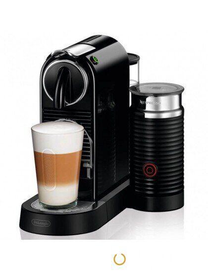 Капсульная кофеварка Nespresso Citiz Milk BLACK