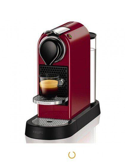 Капсульная кофеварка Nespresso Citiz RED, Красный