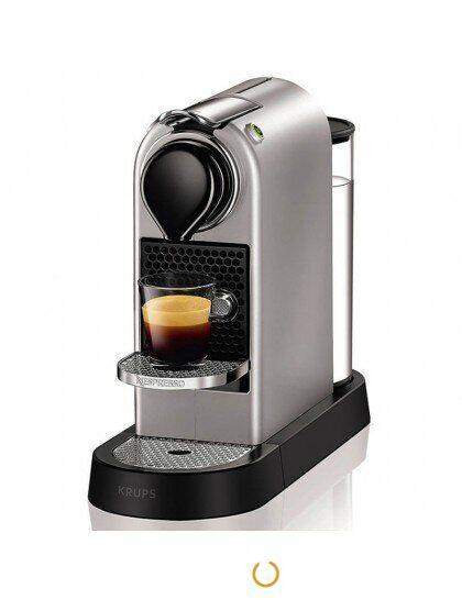 Капсульная кофеварка Nespresso Citiz SILVER