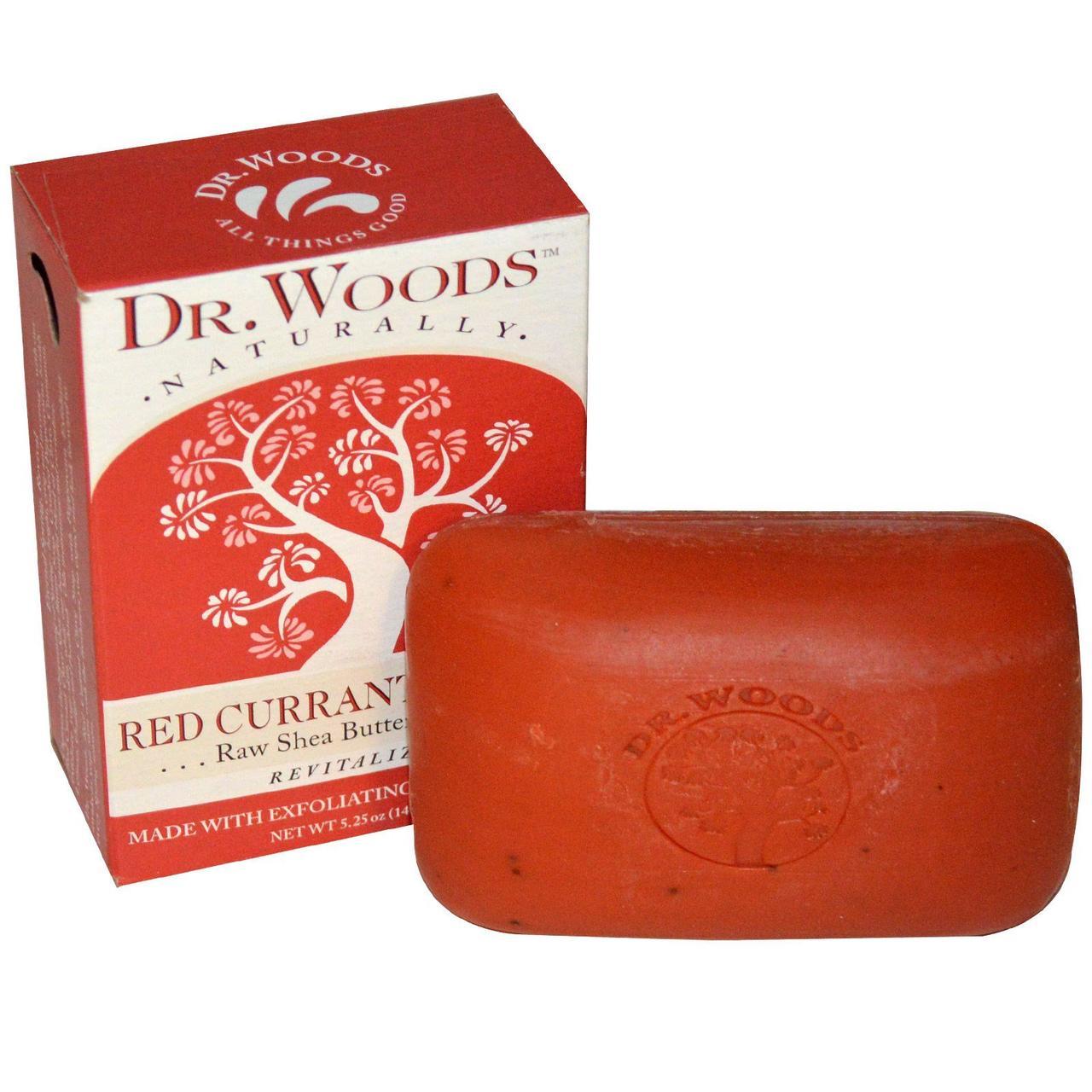 Мыло смородина+гвоздика, Soap, Dr. Woods, 149 гр.