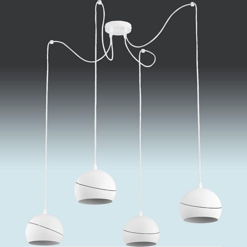 Люстра підвісна TK Lighting 2220 YODA WHITE ORBIT