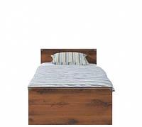 Кровать односпальная  BRW Индиана (каркас) 90х200 дуб шутер