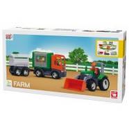 Игровой набор из abs пластика для мальчика от 3 лет Efko MULTIGO FARM BIG SET Набор фермер (27312), фото 2