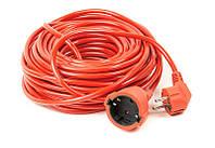 Удлинитель PowerPlant (PPCA10M50S1L) 1 розетка, 50 м, морозостойкий, оранжевый