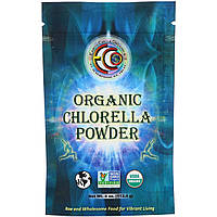 Хлорелла в порошке, органическая, Earth Circle Organics, Chlorella Powder,  113 г